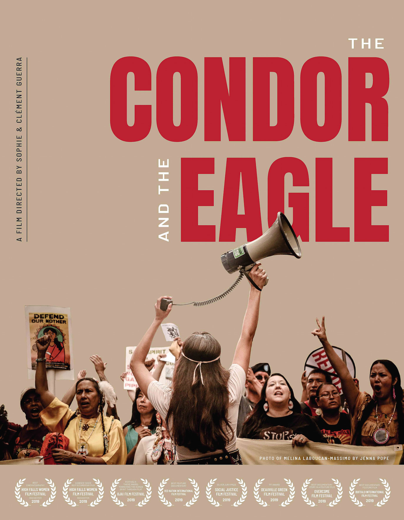 CONDOR AND EAGLE Documentary New-Poster